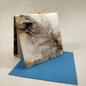 Eco-Dyed Card
